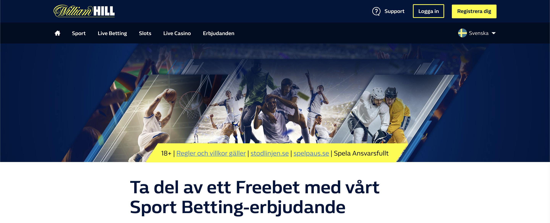 William Hill Recension 2021 » Sport och generösa odds hos William Hill. Vi har analyserat spelbolaget för våra Svenska spelare väldigt noga!