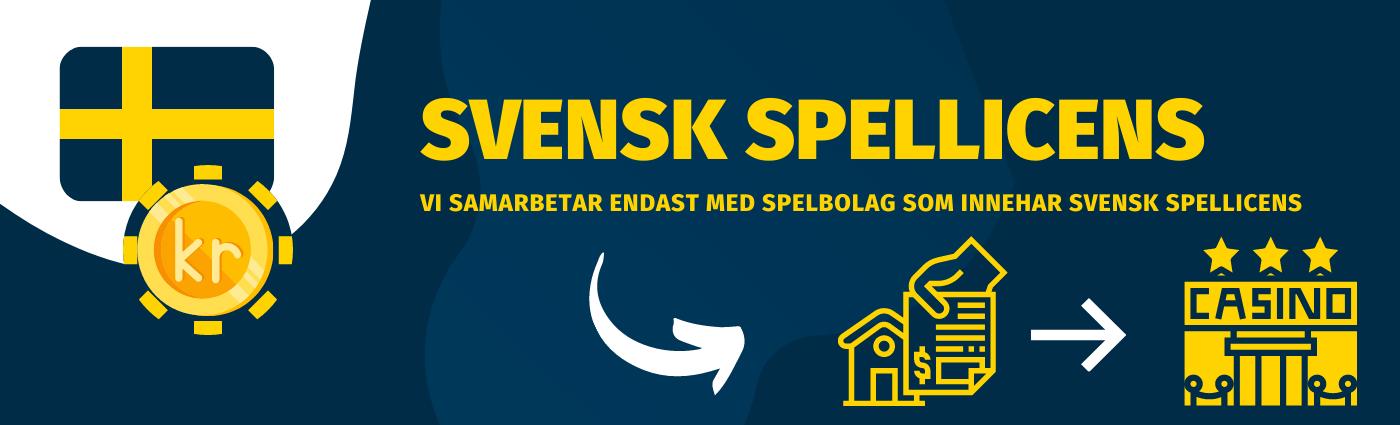 Läs mer om Svensk spellicense