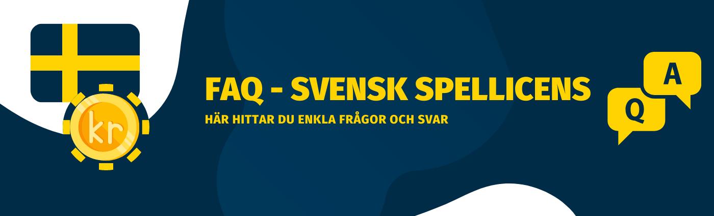 Frågor och svar om svensk spellicens