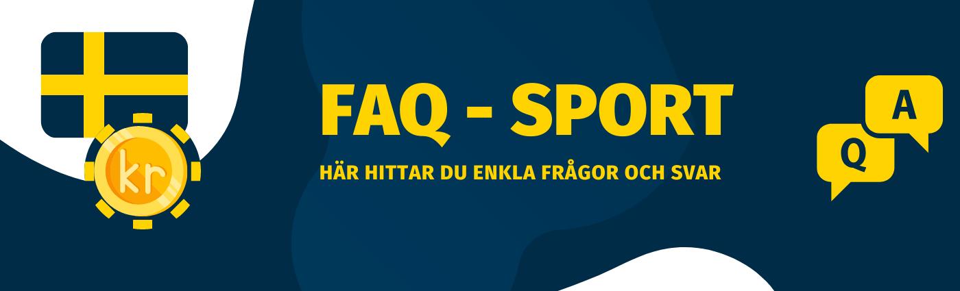 Frågor och svar om sport