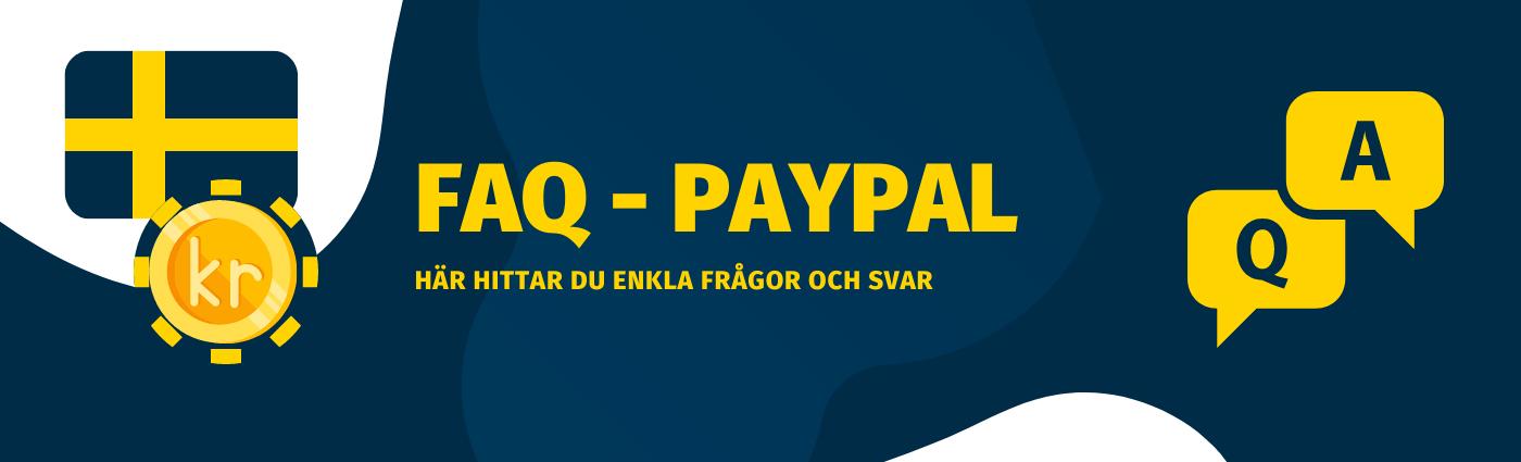 Frågor och svar om Paypal