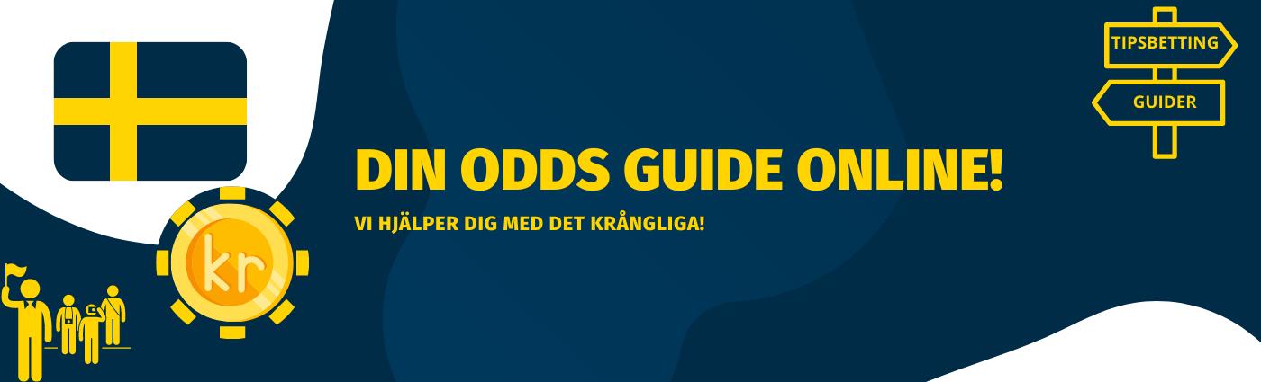 Odds online 2021 för Svenska spelare! Vi jämför spelbolagen för att hitta bästa odds online varje dag och förklarar hur du kan spela!