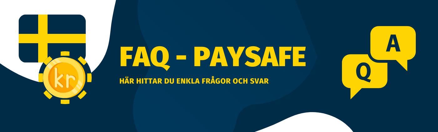 Frågor och svar om Paysafecard