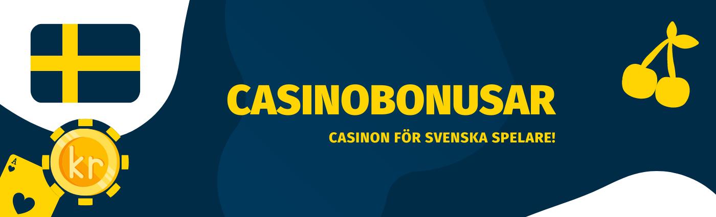 Casinobonusar och Free spins 2021 hos Tipsbetting.se