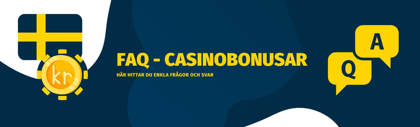 Vanliga frågor och svar om Casinobonusar på Tipsbetting.se